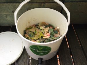 The Bokashi Bucket - This is were the pickling happens
